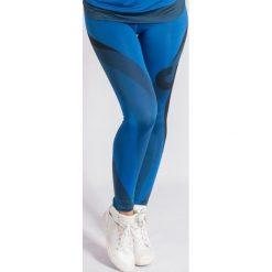 Spodnie dresowe damskie: KARMA Leggings Blue Balance r. M (74709)