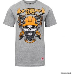 T - shirt OFFSHORE RAT GRAY. Czarne t-shirty męskie marki Pakamera, m, z kapturem. Za 89,00 zł.