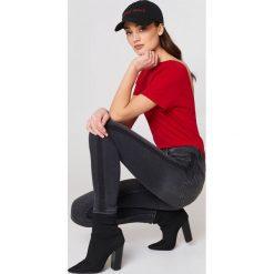 Spodnie damskie: MANGO Rurki Soho – Grey