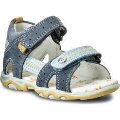 Sandały męskie skórzane: Sandały BARTEK – 11824-170 II Niebieski