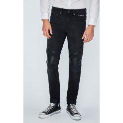Guess Jeans - Jeansy Jay. Szare rurki męskie marki Guess Jeans, l, z aplikacjami, z bawełny. W wyprzedaży za 479,90 zł.
