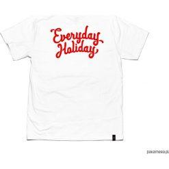 "Bluzki, topy, tuniki: Koszulka Everyday Holiday ""WHITE RED"""