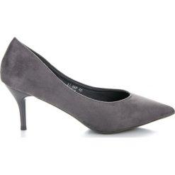 Czółenka na niskim obcasie COLETTE. Brązowe buty ślubne damskie marki SMALL SWAN. Za 89,90 zł.