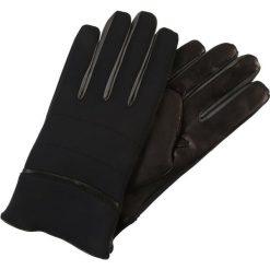 Rękawiczki męskie: Armani Collezioni GUANTO Rękawiczki pięciopalcowe nero