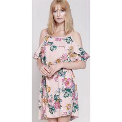 Sukienki hiszpanki: Jasnoróżowa Sukienka Some Of