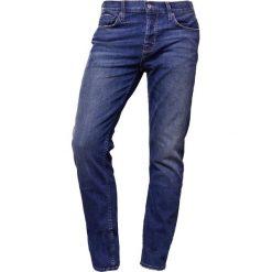Current/Elliott Jeansy Slim Fit colton. Niebieskie jeansy męskie regular Current/Elliott, z bawełny. W wyprzedaży za 471,60 zł.