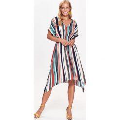 Sukienki: SUKIENKA DAMSKA W PASKI