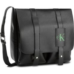 Torebki i plecaki damskie: Torebka CALVIN KLEIN JEANS – Coated Canvas Lp Messenger K50K503738  001