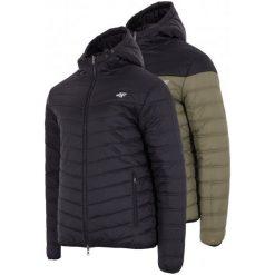 4F Kurtka Męska H4Z17 kum004 Czarny M. Czarne kurtki sportowe męskie marki 4f, na zimę, m, z puchu. W wyprzedaży za 249,00 zł.