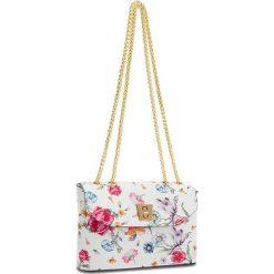 Torebka CREOLE - K10513 Kwiatowy. Białe torebki klasyczne damskie Creole, ze skóry. W wyprzedaży za 149,00 zł.
