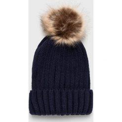 Haily's - Czapka Claudy. Czarne czapki zimowe damskie Haily's, na zimę, z dzianiny. Za 39,90 zł.