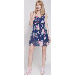 Sukienki: Granatowa Sukienka One Day One Love