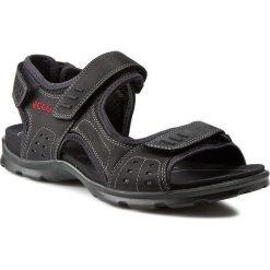 Sandały ECCO - Utah 83411402001  Black. Czarne sandały męskie skórzane ecco, na rzepy. Za 399,90 zł.