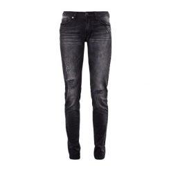 S.Oliver Jeansy Damskie 34/30 Czarny. Czarne jeansy damskie marki S.Oliver. W wyprzedaży za 195,00 zł.