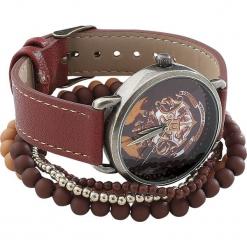 Harry Potter Hogwarts Zegarek na rękę czerwony. Czerwone zegarki damskie Harry Potter. Za 144,90 zł.