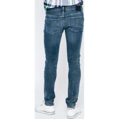 Tommy Hilfiger - Jeansy Layton. Niebieskie jeansy męskie slim TOMMY HILFIGER, z bawełny. W wyprzedaży za 399,90 zł.