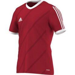 Odzież sportowa męska: Adidas Koszulka piłkarska męska Tabela 14 czerwono-biała r. XL (F50274)