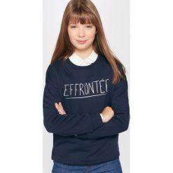 Bluza z nadrukiem. Szare bluzy dziewczęce rozpinane La Redoute Collections, z nadrukiem, z bawełny, z długim rękawem, długie. Za 60,44 zł.