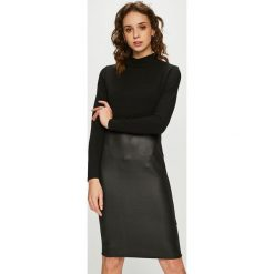 Haily's - Sukienka. Czarne sukienki dzianinowe marki Haily's, na co dzień, l, casualowe, dopasowane. Za 119,90 zł.