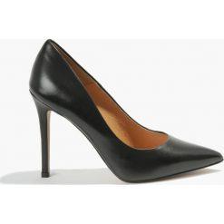 Czółenka czarne Donna. Czarne buty ślubne damskie Badura. Za 255,99 zł.
