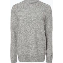 Tommy Hilfiger - Sweter damski z dodatkiem alpaki, szary. Szare swetry klasyczne damskie TOMMY HILFIGER, xxl. Za 399,95 zł.