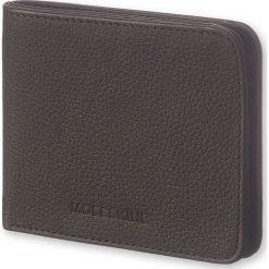 Portfel Moleskine Horizontal Wallet Lineage czarny. Czarne portfele męskie Moleskine, ze skóry. Za 260,00 zł.