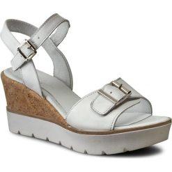 Rzymianki damskie: Sandały SIMEN – 0475 Biały