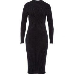 Sukienki dzianinowe: IVY & OAK WRAP Sukienka dzianinowa dark grey melange