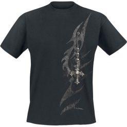 T-shirty męskie: Spiral Tribal Chain T-Shirt czarny