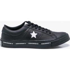 Converse - Tenisówki. Czarne tenisówki męskie Converse, z materiału, na sznurówki. W wyprzedaży za 269,90 zł.