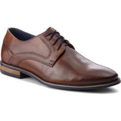 Półbuty SERGIO BARDI - Banzi SS127329318MD 104. Brązowe buty wizytowe męskie Sergio Bardi, z materiału. W wyprzedaży za 199,00 zł.