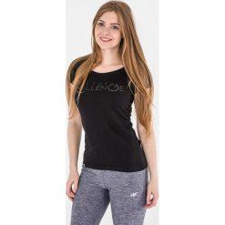 4f Koszulka damska H4L17-TSD011 czarna r. S (H4L17-TSD011). Czarne topy sportowe damskie marki 4f, l. Za 29,90 zł.