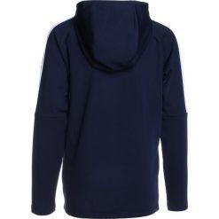 Nike Performance DRY HOODIE Bluza z kapturem blue. Niebieskie bluzy chłopięce rozpinane Nike Performance, z materiału, z kapturem. W wyprzedaży za 135,15 zł.