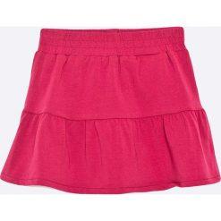 Name it - Spódnica dziecięca 80-104 cm. Różowe spódniczki dzianinowe marki Name it, midi, rozkloszowane. W wyprzedaży za 24,90 zł.
