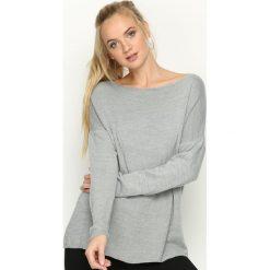 Swetry klasyczne damskie: Szary Sweter Minnesota