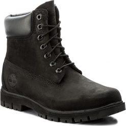 Trapery TIMBERLAND - Radford 6 Boot Wp A1JI2/TB0A1JI20011 Black. Czarne glany męskie marki Timberland, z gumy. W wyprzedaży za 589,00 zł.