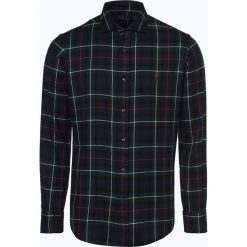 Polo Ralph Lauren - Koszula męska – Slim Fit, zielony. Zielone koszule męskie slim marki Polo Ralph Lauren, l, z włoskim kołnierzykiem. Za 629,95 zł.