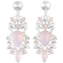 Kolczyki damskie: SNÖ of Sweden BONNIE EARRING Kolczyki silvercoloured/pink