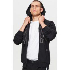 Bluza z nadrukiem BALTIC GAMES - Czarny. Czarne bluzy męskie rozpinane marki Harp Team, xl, z nadrukiem, z bawełny. Za 139,99 zł.