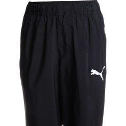 Puma PANTS Spodnie treningowe black. Czarne spodnie chłopięce Puma, z materiału. Za 129,00 zł.