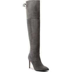 Muszkieterki EVA MINGE - Jacinta 2A 17SF1372452EF 809. Szare buty zimowe damskie Eva Minge, ze skóry, na obcasie. W wyprzedaży za 499,00 zł.
