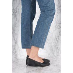 Baleriny damskie lakierowane: NA-KD Shoes Miękkie baleriny – Black