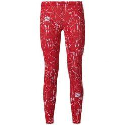Spodnie sportowe damskie: Odlo Spodnie Odlo Tights short cut insideout EBE czerwone r. S