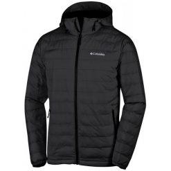 Columbia Kurtka Męska Powder Lite Hooded Jacket Black M. Szare kurtki sportowe męskie marki Columbia, z dzianiny. Za 525,00 zł.