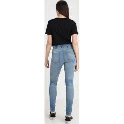 GStar SHAPE HIGH SUPER SKINNY Jeans Skinny Fit medium aged. Niebieskie jeansy damskie relaxed fit G-Star, z bawełny. Za 559,00 zł.