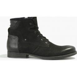 Kozaki czarne Luca. Czarne buty zimowe męskie marki House. Za 263,99 zł.