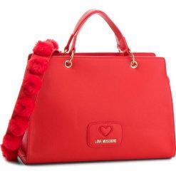 Torebka LOVE MOSCHINO - JC4281PP06KL0500 Rosso. Czerwone torebki klasyczne damskie marki Love Moschino, ze skóry ekologicznej. Za 959,00 zł.