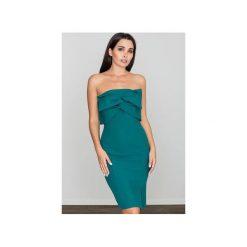 Sukienki: Sukienka M571 Zielony