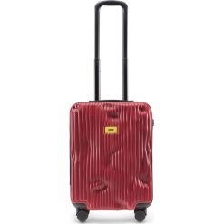 Walizka Stripe kabinowa Alfa Red. Szare walizki marki Crash Baggage, z materiału. Za 1049,00 zł.
