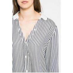 Tommy Hilfiger - Koszula piżamowa. Szare koszule nocne i halki marki TOMMY HILFIGER, l, z materiału, z długim rękawem. W wyprzedaży za 139,90 zł.